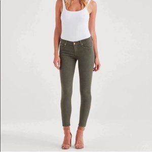 J. Crew Mercantile Olive Green Jeans Size 30